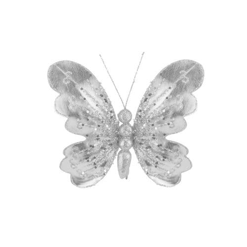 Davies Products Butterfly - 15cm Silver